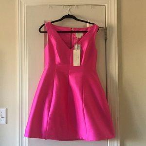 Kate Spade NWT Hot Pink cocktail dress SZ 10